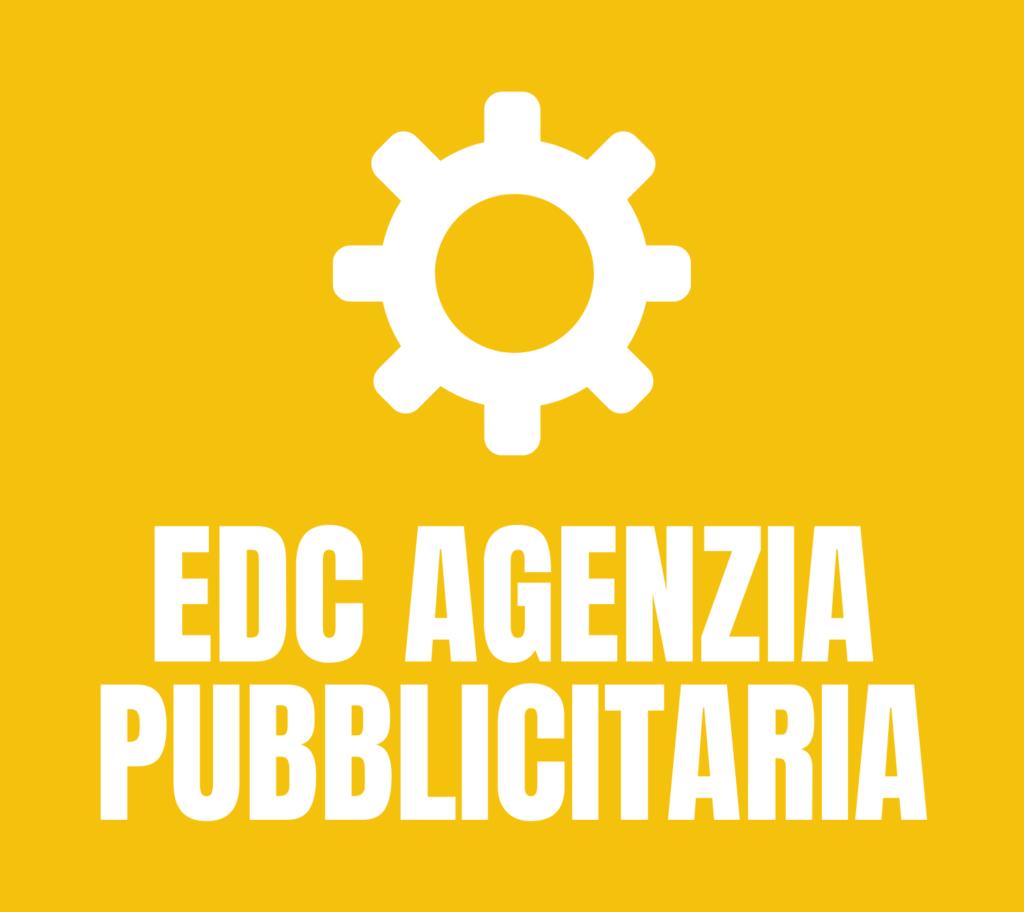 Logo EDC Agenzia Pubblicitaria SMM_biano Eco Dei Casali