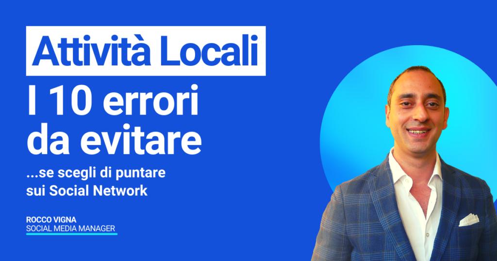 Rocco Vigna Social Media Manager